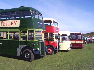 Leeds/PMT Leylands, Crosville RE, AEC Reliance